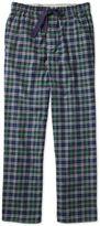 Navy Check Cotton Pyjama Trousers Size Xs By Charles Tyrwhitt