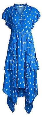 Shoshanna Women's Yasmine Tiered Floral Dress - Size 0