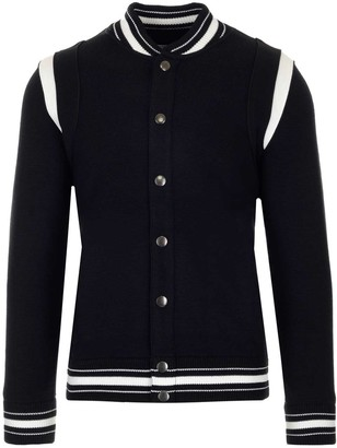 Givenchy Knitted Logo Bomber Jacket