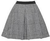 CONTEMPORARY Plaid Mini Skirt