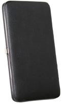 Royce Leather Women's Slim Framed Wallet 157-6