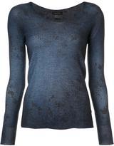 Avant Toi V-neck jumper - women - Silk/Cashmere - L