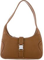 Salvatore Ferragamo Grained Leather Shoulder Bag