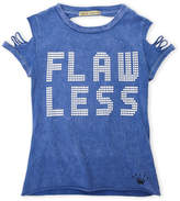Dirtee Hollywood Girls 7-16) Flawless Ripped Tee