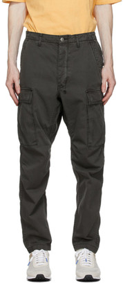 Ksubi Grey Frequency Cargo Pants