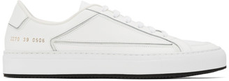 Common Projects White Retro G-2 Sneakers