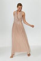 Thumbnail for your product : Coast Pleat Mesh Skirt Maxi Dress