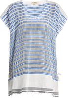 Lemlem Selina striped V-neck cover-up