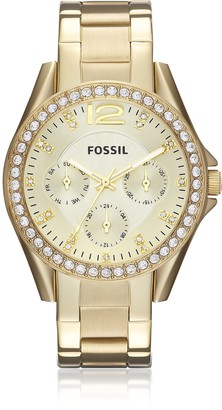 Fossil Riley Multi-Function Gold Tone Women's Watch