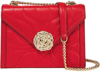 MICHAEL Michael Kors Embellished Quilted Leather Shoulder Bag