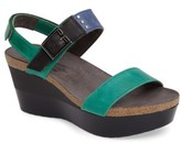 Naot Footwear Women's Alpha Platform Wedge Sandal Sandal
