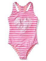 Gap Embellished stripe racerback swim one-piece