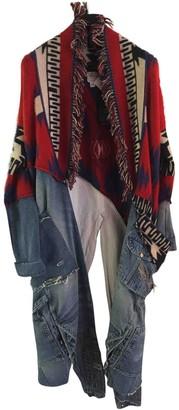 Alanui Multicolour Cashmere Coats