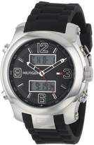 Tommy Hilfiger Men's 1790945 Cool Sport Analog-Digital and Silicone Strap Watch