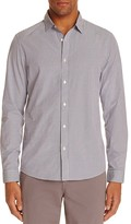 Michael Kors Multi Check Slim Fit Button Down Shirt