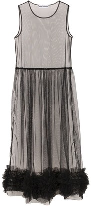 Molly Goddard Alison tulle midi-dress