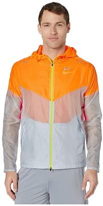 Nike Windrunner Jacket (Pure Platinum/Reflective Silver) Men's Coat