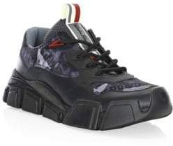 Salvatore Ferragamo Booster 2 Chunky Leather Sneakers