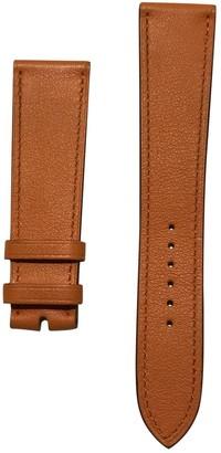 Hermes Arceau Orange Leather Watches