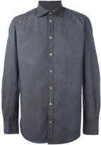 Massimo Alba crinkle shirt - men - Cotton - L