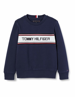 Tommy Hilfiger Boy's Intarsia Sweatshirt Hoodie