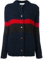 Sonia Rykiel contrast stripe cardigan