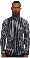 Vivienne Westwood Krall Stretch Candy Stripe Button Up