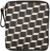 Pierre Hardy Black and White Polycube Wallet
