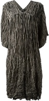 Zucca striped pleated dress