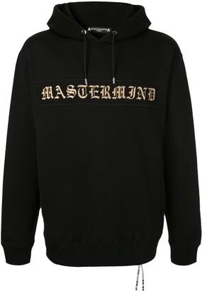 Mastermind World Logo Skull print hoodie