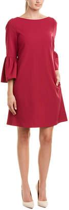 Lafayette 148 New York Marissa Wool-Blend Shift Dress