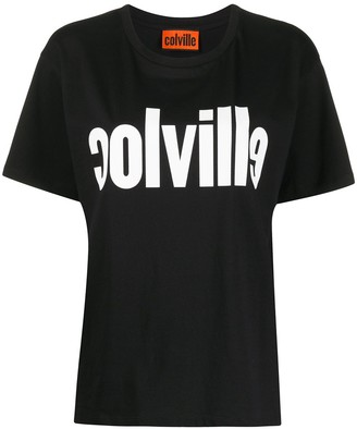 Colville crew neck logo printed T-shirt