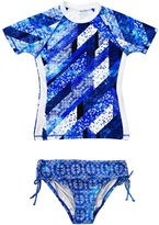 Seafolly Swimsuit Enfant Indie Dreamer Surf Set Bleu