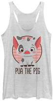 Fifth Sun Moana 'Pua the Pig' Racerback Tank - Juniors
