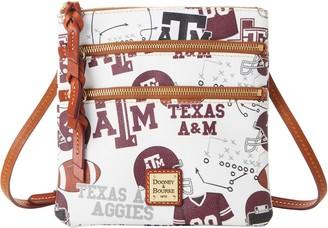 Dooney & Bourke NCAA Texas A&M N S Triple Zip Crossbody