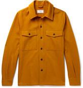 Ami Cotton-Blend Twill Overshirt