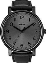 Timex Men's Easy Reader T2N346 Leather Quartz Watch