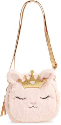 Under One Sky Princess Kitty Faux Fur Crossbody Bag