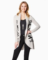 Charming charlie Cold Weather Tribal Cardigan