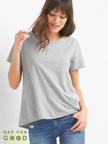 Gap Pleat-back boatneck tee