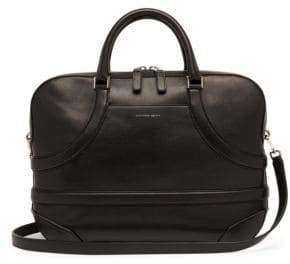 Alexander McQueen Harness Leather Briefcase Bag