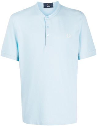 Fred Perry Band Collar Polo Shirt