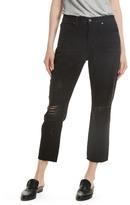 Frame Le Original Ripped Crop Jeans