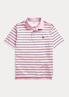 Ralph Lauren Striped Performance Polo Shirt