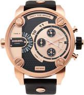 Diesel DZ7282 Rose Gold-Tone & Black Watch