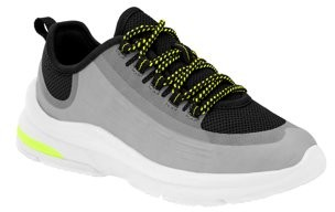 Athletic Works Sheer Lace Up Fashion Sneaker (Little Boys & Big Boys)