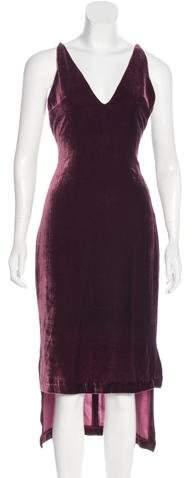 Dion Lee Velvet Midi Dress