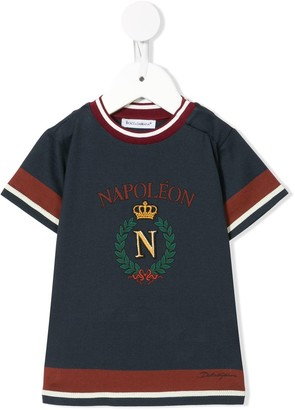 Dolce & Gabbana embroidered T-shirt