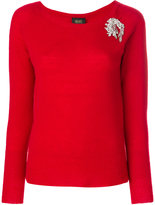 Liu Jo embellished jumper
