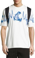 MCM x CR Collection Sonic Wave T-Shirt, White